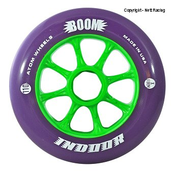 Atom Boom Purple Indoor Wheels