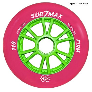 Atom Sub7 Max Firm 100mm & 110mm Inline Speed Skate Wheel