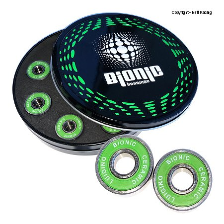Luigino Bionic Ceramic Inline Speed Skate Bearings