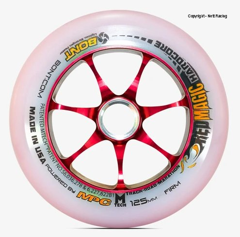 Bont Red Magic 125mm Firm Wheel