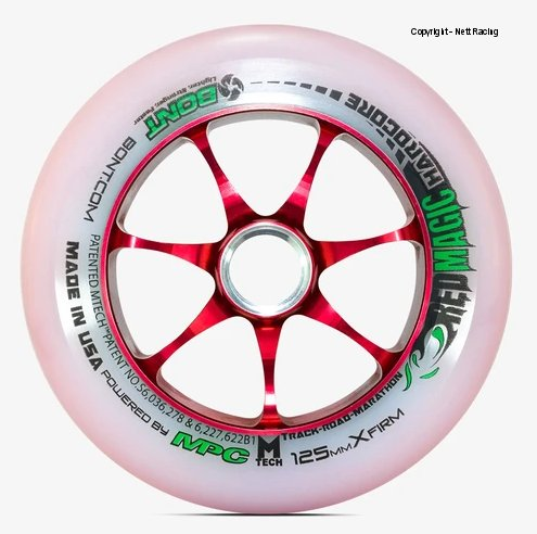 Bont Red Magic 125mm XFirm Wheel