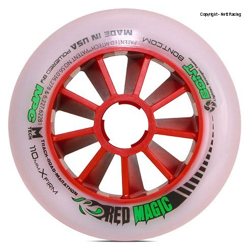 Bont Red Magic XFirm Wheel