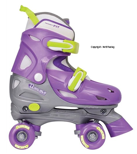 Chicago Adjustable Quad Skate Purple