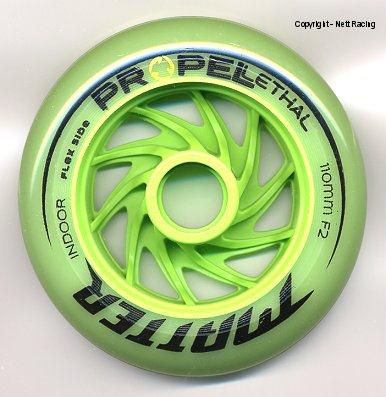 Matter Lethal Propel Green F2 Indoor Inline Speed Skate Wheel