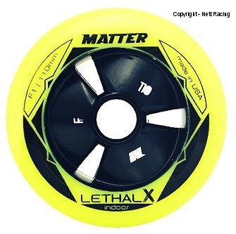 Matter Lethal X F1 Yellow Wheels