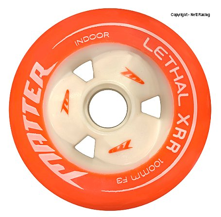 Lethal XRR F3 Salmon Indoor Wheels