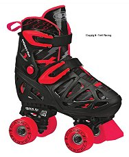 Pacer XT-70 Adjustable Black Red Skate
