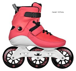 Powerslide Swell Bright Crimson Skate