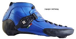 2018 Luigino Strut Blue Inline Speed Skate Boot