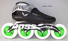 Mota Silver & Carbon Inline Speed Skate Most Popular