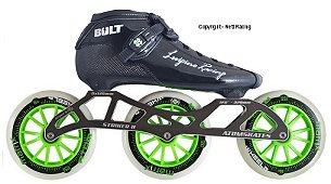 2018 Luigino Bolt Inline Speed Skate