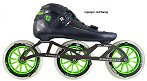 2018 Luigino Challenge 3 Wheel Inline Speed Skate