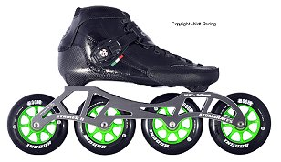 2018 Luigino Strut Indoor Inline Speed Skate.