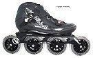 Vanilla Carbon Black Inline Speed Skate