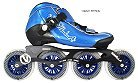 Vanilla Carbon Blue Inline Speed Skate Most Popular