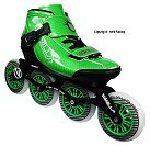 Vanilla Carbon Green Inline Speed Skate Most Popular