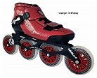 Vanilla Carbon Red Inline Speed Skate Most Popular