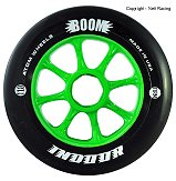Atom Boom Black Indoor 90mm, 100mm, 110mm 91a Inline Speed Skate Wheel