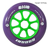 Atom Boom Purple Indoor 100mm, 110mm 93a Inline Speed Skate Wheel