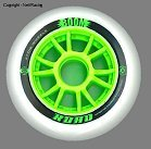 Atom Matrix Marked Boom 100mm 110mm Inline Speed Skate Wheels.